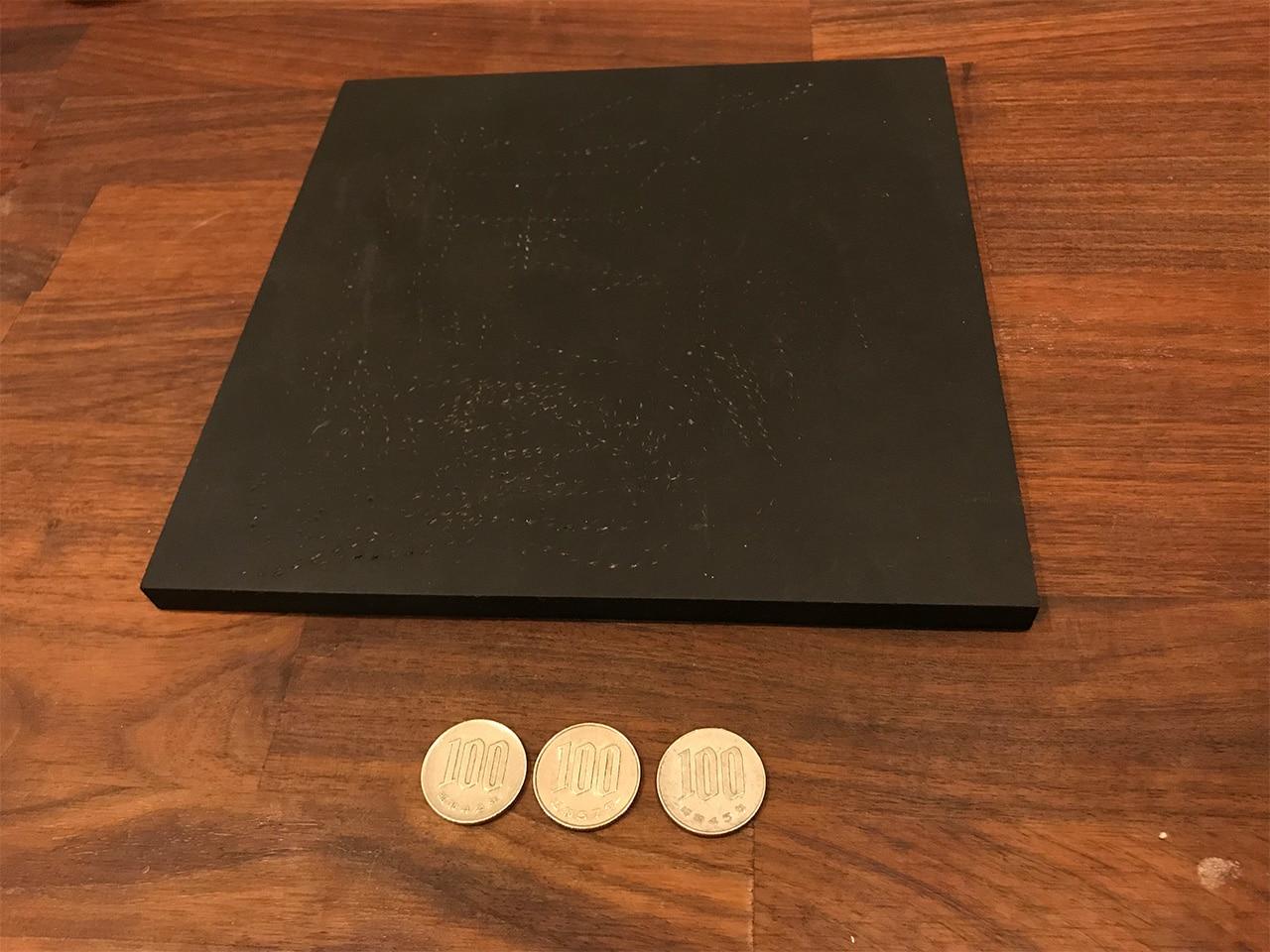 レザークラフトで使うゴム板を300円で手に入れる!