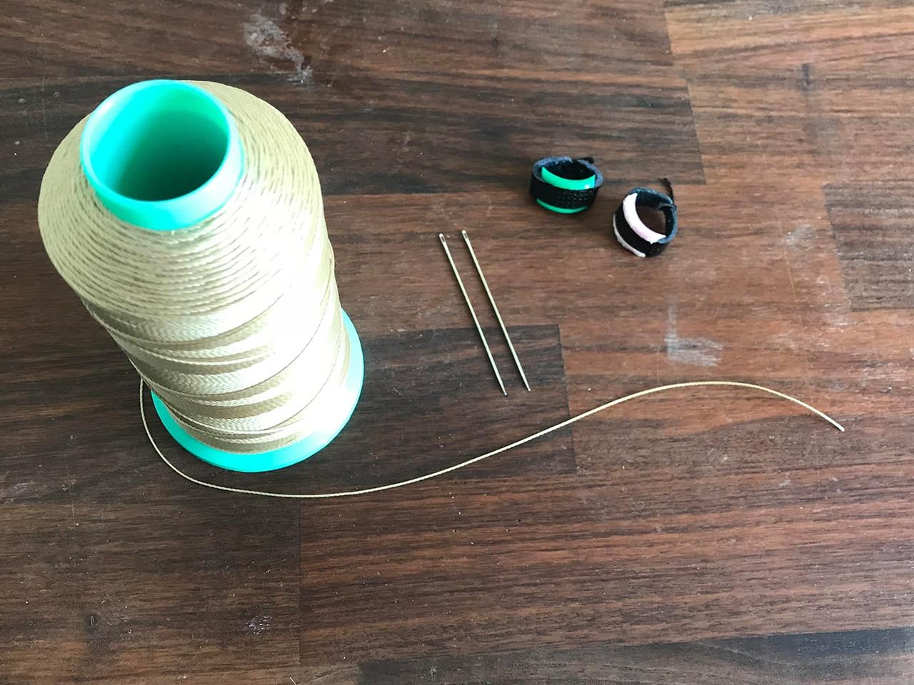 レザークラフトの手縫い道具はこの3つ!